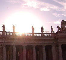 Sunrise at the Vatican