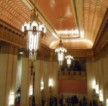 Lyric Opera House in Chicago where the 200th anniversary of Verdi's birth was celebrated with performances of Rigoletto and Otello