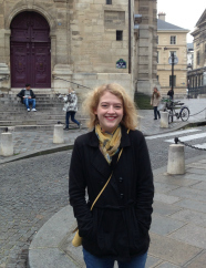 Rebecca teaches English in Paris thanks to a Fulbright teaching Fellowship and will continue teaching in New York with Teach for America