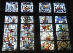 O'Shaughnessy Hall Great Hall Stained Glass