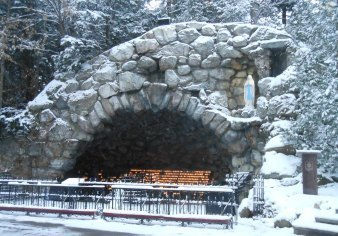 Grotto of Our Lady of Lourdes, a place of prayer, reflection and gathering