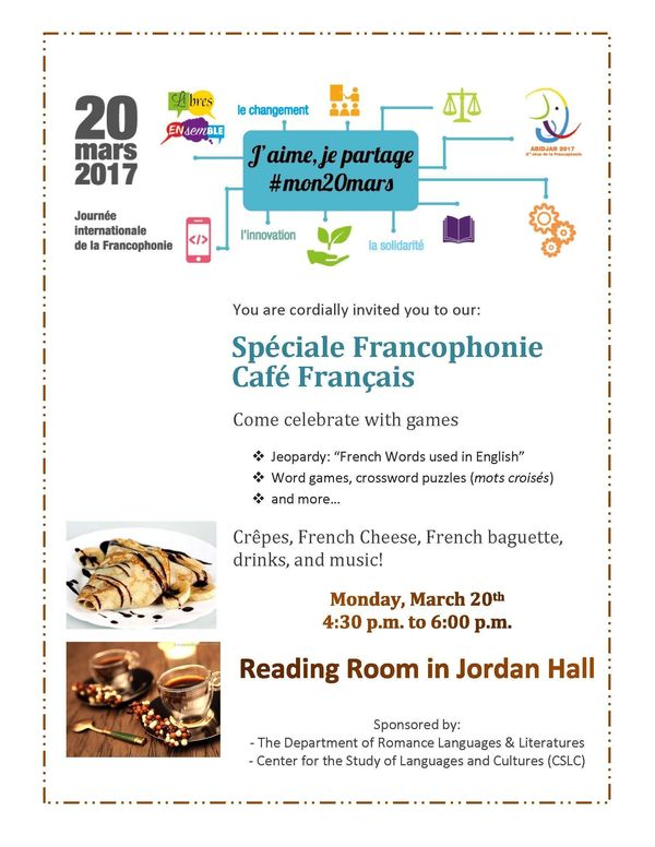 Journee Langue Francaise Cafe