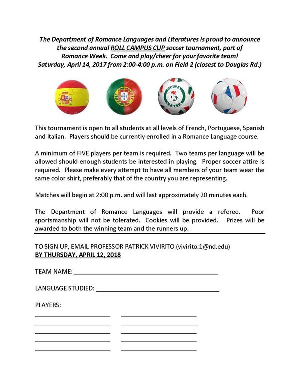 Soccer Tourney Flyer And Guidelines