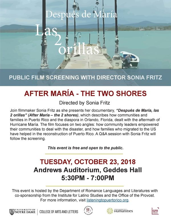 Sonia Fritz Documentary Screening 1 2