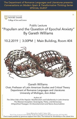 Gareth Williams Populism And The Question Of Epochal Anxiety